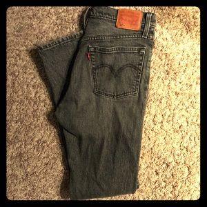 Levi's 501 Skinny Black Jean